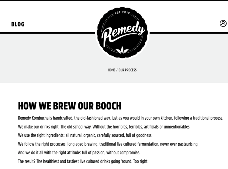 Remedy's informal message about booch