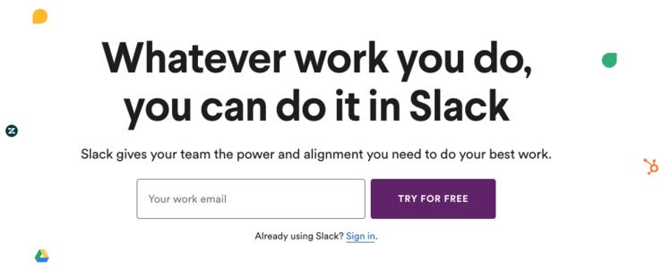 Slack's new messaging